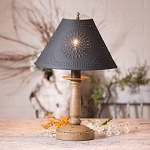 Butcher's Lamp in Americana Pearwood with Shade