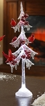 Icicle Tree w/ Cardinals 13
