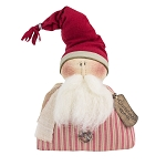 Salvage Christmas Cheer Half Body Santa