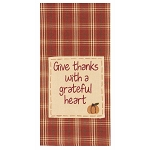 Give Thanks With A Grateful Heart Towel