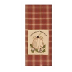 Harvest Blessings Towel Orange