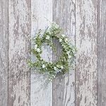 10 IN WHITE FOLIAGE WREATH