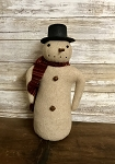 Handmade Snowman with Top Hat 11