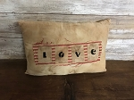 Handmade LOVE Pillow 11