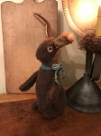 Handmade Chocolate Plush Bunny Rabbit 11