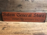 Salem General Store Handmade Sign 6