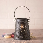Original Tart Wax Warmer in Smokey Black