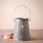 Original TartbWax Warmer in Weathered Zinc