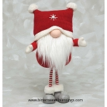 HENRI GNOME WITH SQUARE HAT RED/WHITE 9