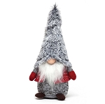 NORDIC BOY GNOME WITH FUR HAT 11.5