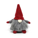 GNOME WITH RED SWEATER HAT 5.25