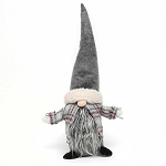 NILS GNOME WITH GREY HAT AND PLAID CAPE 9