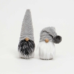 CLAUS BROS GNOME WITH FUZZY HAT 9.5