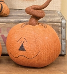 Large Curlicue Pumpkin Head