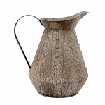 Rustic Pitcher - 10 in tall x 9 in wide x 7 in d.