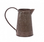 Copper Galvanized Pitcher - 7.5 in tall x 5 in d. / 8.25 in wide