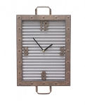 Washboard Clock - 12 in x 19.5 in