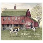 Country Blessings 2019 Wall Calendar