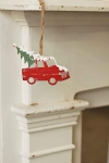Red Truck Tree Ornament