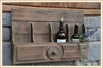 Stable Groomsman Wall Wine Caddy