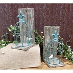 Bird Cage Book Ends (set of 2) 10