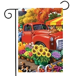 Farm Fresh Market Garden Flag
