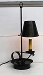 Auburn Table Lamp with Shade Handmade Tin