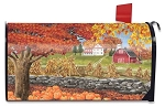 Autumn Day Mailbox Cover