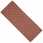 Marshfield Jacquard Table Runner Barn Red Coverlet
