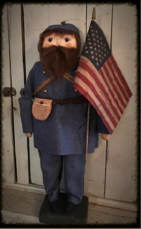 "Americana Union Soldier 28"" Tall"