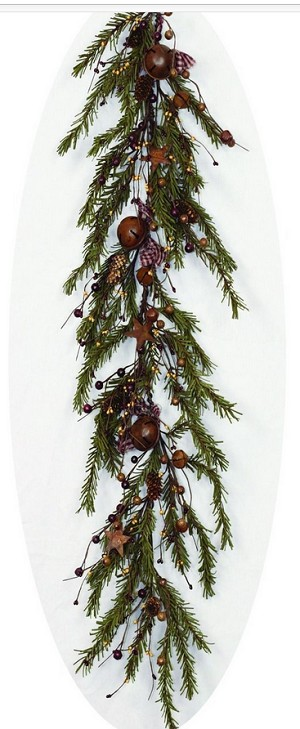 4ft Garland-Rustic Winter
