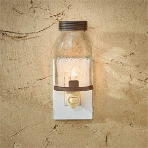 Mason Jar Night Light