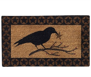 Crow Star Doormat