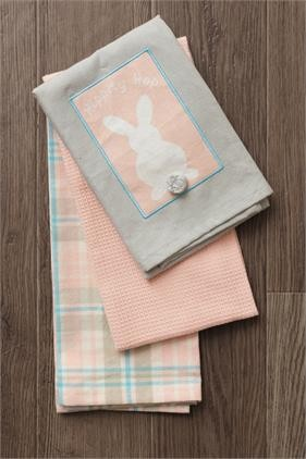 Tea Towels - Hippity Hop Set of 3