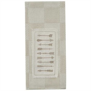 Arrow Patch Embroidered Dishtowel