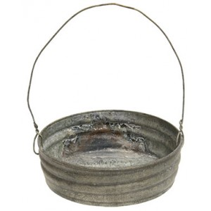 Galvanized Lid w/Handle