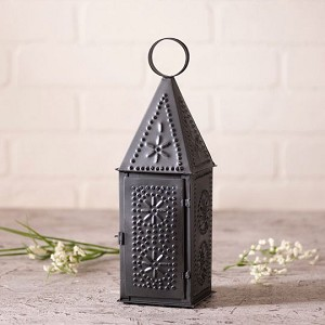 Steeple Lantern Punched Tin