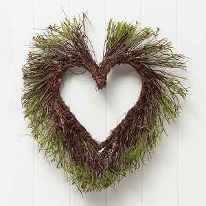 MOSS AND TWIG HEART 15