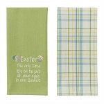 Easter Eggs 2 Dishtowel Set