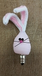 Pink Bunny SIlicone Bulb