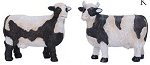 Cow Black & White Resign Figure 3.5
