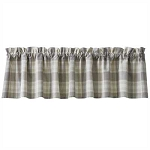 Weathered Oak Valance