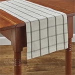 Mercantile Windowpane Table Runner - 36