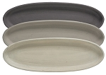 Small Oval Tray - Stoneware Colors, 3 asst.