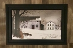 Black Framed Billy Jacobs Christmas Time's A Coming 15.5