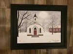 Black Framed Billy Jacobs Love One Another 15.5