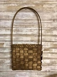 Handmade Primitive Wall Door Basket by Gin 21.5