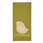Chick Applique Dishtowel