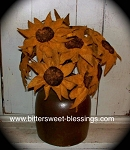 Handmade Sunflowers Medium 8