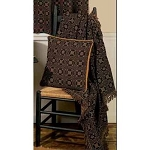 Lover's Knot Jacquard Afghan